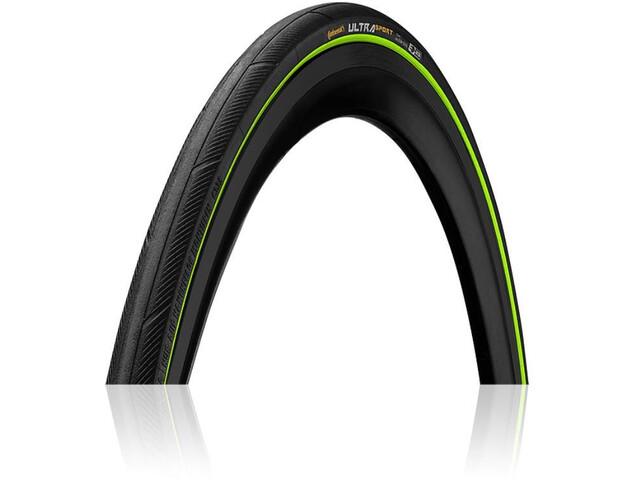 Continental Ultra Sport III Performance Faltreifen 700x23C black/green